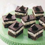 Irish Mint Brownies
