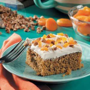 Apricot Pumpkin Cake