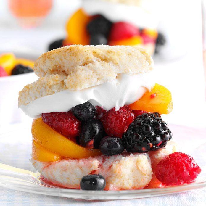 Mixed Fruit Shortcakes
