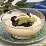 Blueberry Cornmeal Pudding