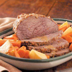 Caraway Beef Roast