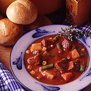 Pronto Beef  Vegetable Soup