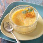 Soft Orange Custard