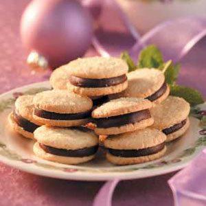 Mint Sandwich Sugar Cookies