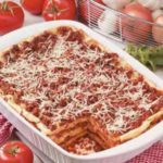 Makeover Lasagna with Two Sauces