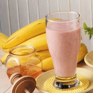 Banana Strawberry Smoothies