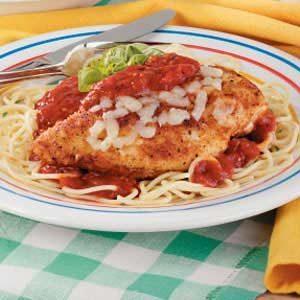 Chicken Parmigiana for 2