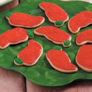 Chili Pepper Cookies