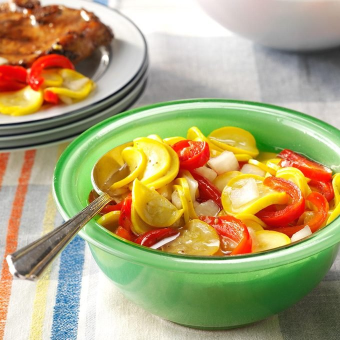 So-Sweet Squash Pickles