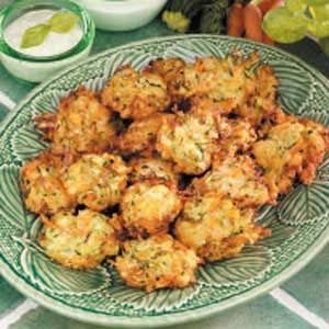 Carrot Zucchini Fritters