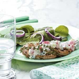 Greek Pork Cutlets