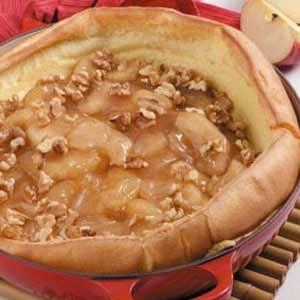 Apple Pie Puff Pancake
