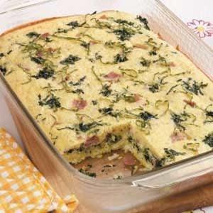 Florentine Egg Bake
