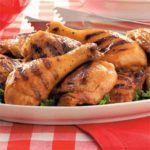 Grilled Thighs and Drumsticks