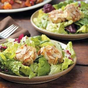 Mixed Greens with Goat Cheese