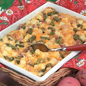 Green Bean Potato Bake