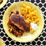 Blackened Chicken and Beans