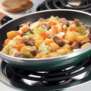 Hearty Skillet Stew