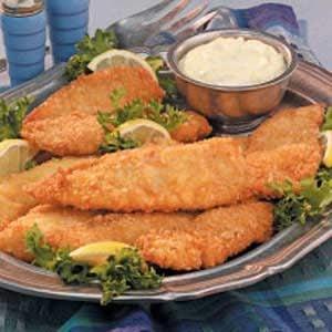 Mom's Fried Fish