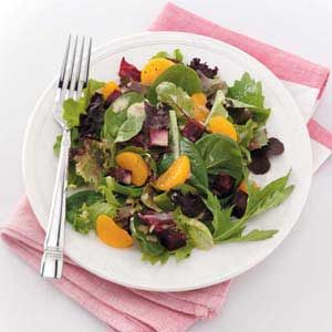 Greens and Roasted Beets
