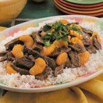 Orange Beef Teriyaki