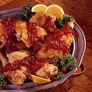 Cranberry/Orange Chicken