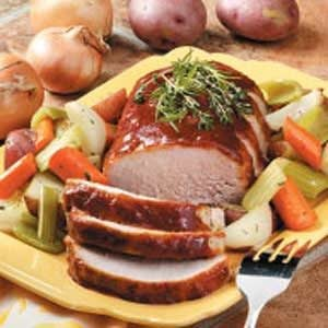 Pork Roast Supper