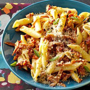 Pepperoni Penne Carbonara