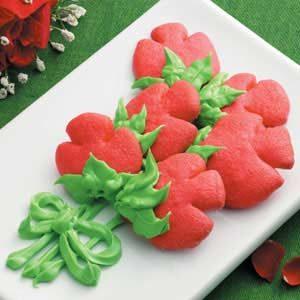 Rosebud Butter Cookies