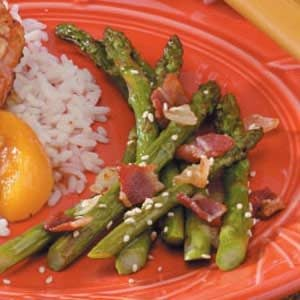 Bacon Onion Asparagus