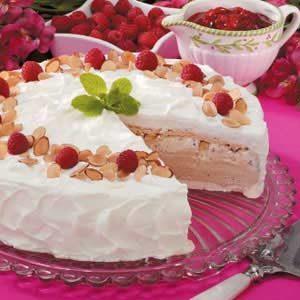 Meringue Ice Cream Torte