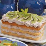 Mousse-Topped Pound Cake
