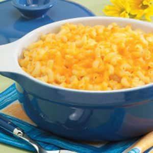 Triple-Cheese Macaroni