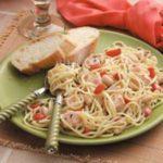 Tuscan Salmon Pasta