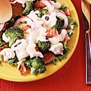 Quick Layered Lettuce Salad