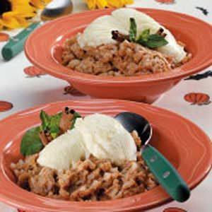 Pumpkin Rice Pudding