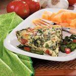 Blue Cheese Spinach Frittata