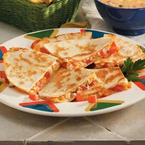 Easy Chicken Quesadillas