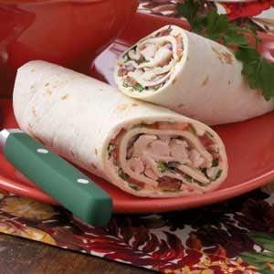 Veggie Chicken Wraps