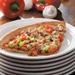 Grilled Veggie Sausage Pizza