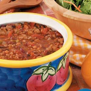 Four Bean Turkey Chili