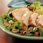 Grilled Chicken Salad for Two