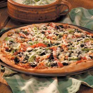 Homemade Pizza Supreme