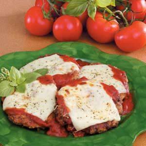 Cubed Steaks Parmigiana