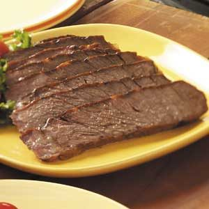 Marinated Barbecued Chuck Roast
