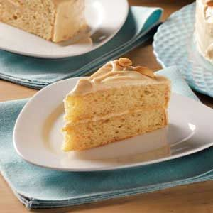 Makeover Peanut Butter Layer Cake
