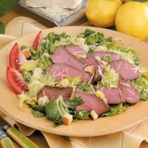 Grilled Steak Caesar Salad