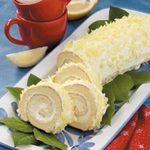 Luscious Lemon Cake Roll