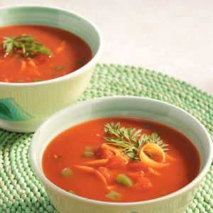 Chunky Vegetable Chilled Soup