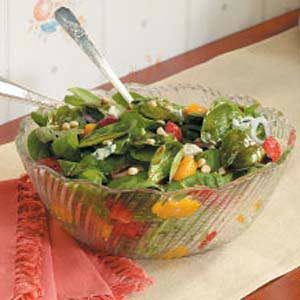 Spinach and Blue Cheese Salad